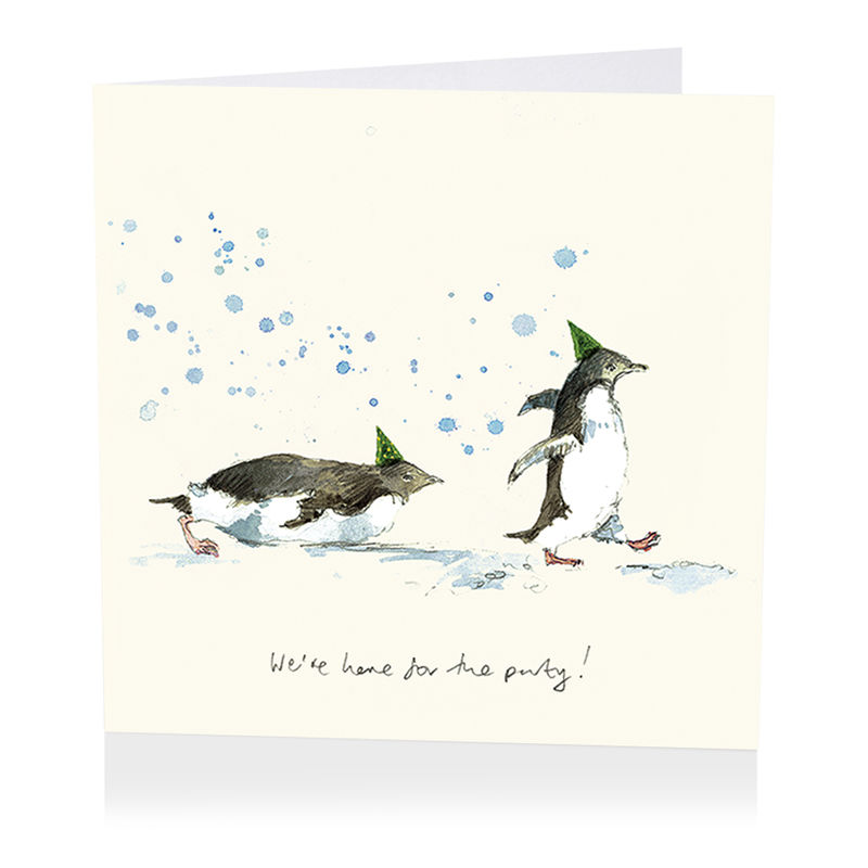 Penguins We're Here For The Party Birthday Card - product images