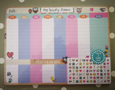 Rachel,Ellen,Owls,and,Birds,Weekly,Desk,Planner,buy owls and birds desk planner for her online, buy pretty desk planners online buy desk planner for work home office online, buy rachel ellen designs desk planners for her online