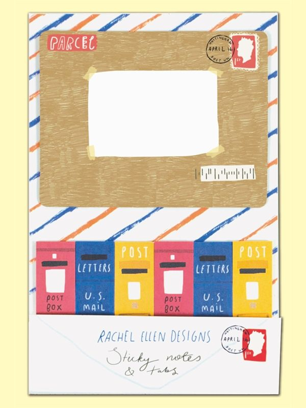 Rachel Ellen Sticky Notes And Tabs - Postage Design - product images  of