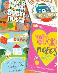Rachel Ellen Book Of Sticky Notes - Bear Lum'bear'jack Design - product images  of