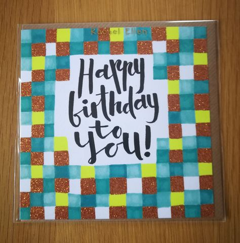 Pattern,Happy,Birthday,To,You,Card,buy happy birthday to you cards for him online, buy patterned mens birthday cards online, buy male birthday cards for the birthday boy online, buy birthday cards for him online,