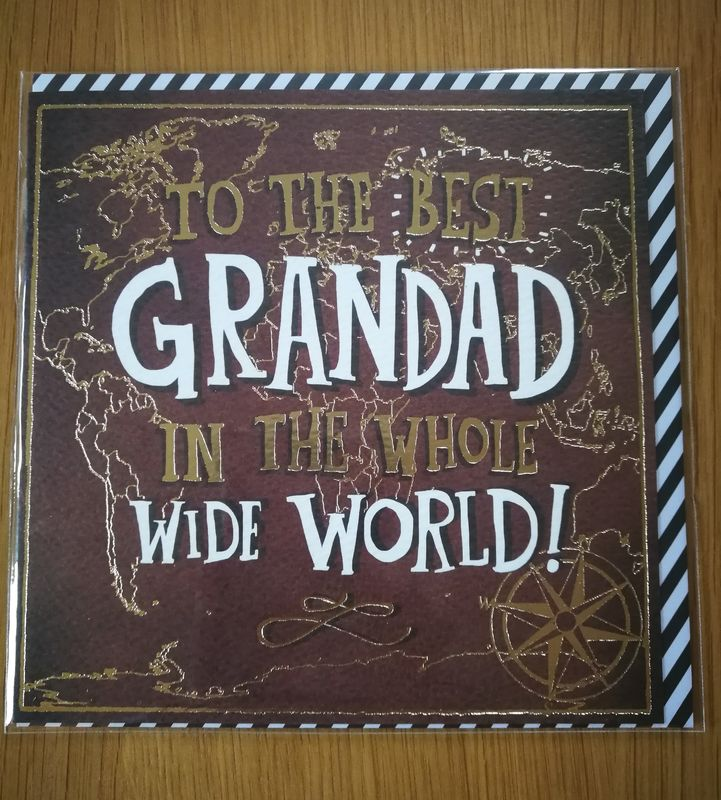 To The Best Grandad In The World Birthday Card - product images  of