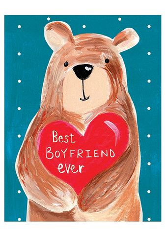 Bear,&,Heart,Best,Boyfriend,Ever,Card,buy boyfriend birthday card online, buy heart and bear cards for boyfriends online, buy boyfriend valentines day card online, buy best boyfriend ever card online with heart, buy love cards for boyfriends, buy anniversary cards for boyfriends, buy cards fo