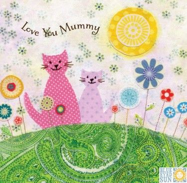Cats,Love,You,Mummy,Card,buy cats mummy mothers day card online, buy love you mummy mothering sunday card online, mothers day cards with cats,  cat card, kitten cards, love you mummy birthday card, cat birthday cards for special mummy, birthday cards for mummies
