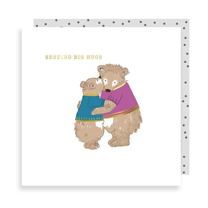 Bears Sending Big Hugs Card - product images