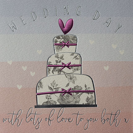 Wedding Cake To You Both Wedding Day Card - product images  of