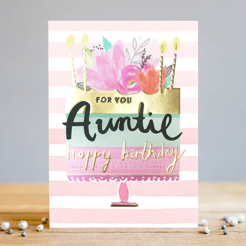For,You,Auntie,Birthday,Cake,Happy,Card,buy auntie birthday card online, buy pretty auntie birthday card online with flowers cake and candles, buy special birthday cards for aunties online from niece nephew nieces and nephews, for you auntie brithday cake birthday card,