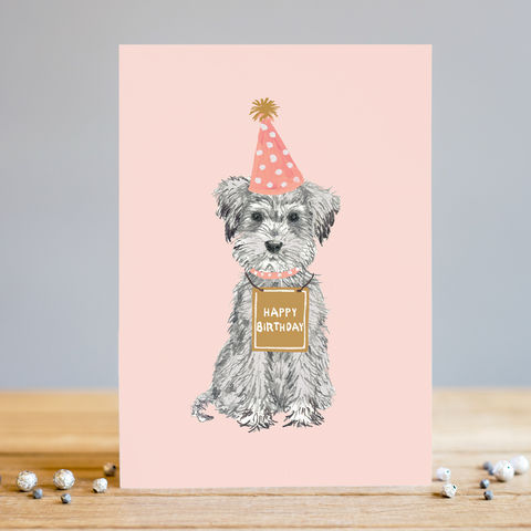 Dog,Happy,Birthday,Card,buy dog birthday card online, buy birthday cards with dogs online, birthday card for her, female birthday cards, girls birthday cards, cards with dogs, dog card, buy dalmatian birthday cards online, buy dog and balloon birthday cards for her online,