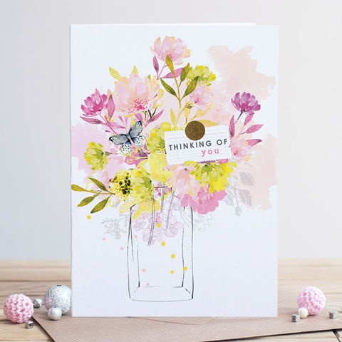 Vase,of,Flowers,Thinking,Of,You,Card,buy floral thinking of you cards online, buy flowers butterfly thinking of you cards online buy get well soon cards online, buy floral with sympathy cards online buy thinking of you cards for someone special friendship warm wishes,