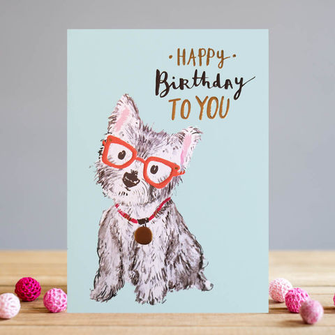 Westie,Dog,Happy,Birthday,Card,buy dog birthday card online, buy birthday cards with dogs online, birthday card for her, female birthday cards, girls birthday cards, cards with dogs, dog card, buy west highland terrier birthday cards online, buy westie dog birthday cards for her online
