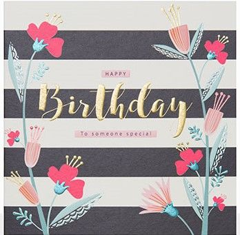 To Someone Special Happy Birthday Card