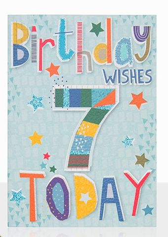 Birthday,Wishes,7,Today,Card,buy 7th birthday cards online, buy age seven birthday cards online, buy boys 7 today birthday card online, buy 7th birthday cards for children online, buy 7th birthday cards online for boys, birthday card for boys