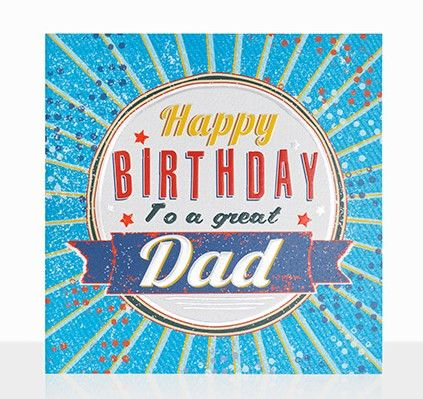 To A Great Dad Happy Birthday Card - product images  of