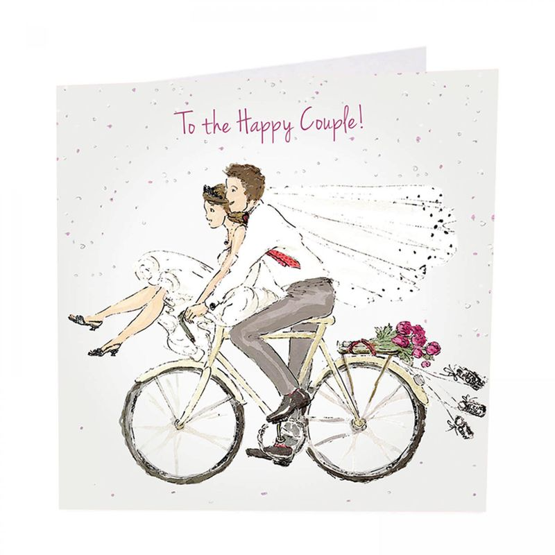 To The Happy Couple Wedding Day Card - product images