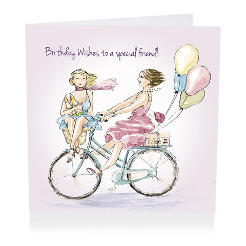 Special,Friend,Bicycle,Happy,Birthday,Wishes,Card,buy friend birthday cards online, buy female special friend birthday cards online, buy special friend birthday card for her online with friends bicycle balloons champagne, special friend happy birthday wishes cards, best friend cards, friendship cards
