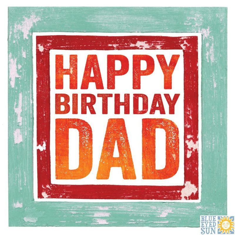 Happy Birthday Dad Card - product images
