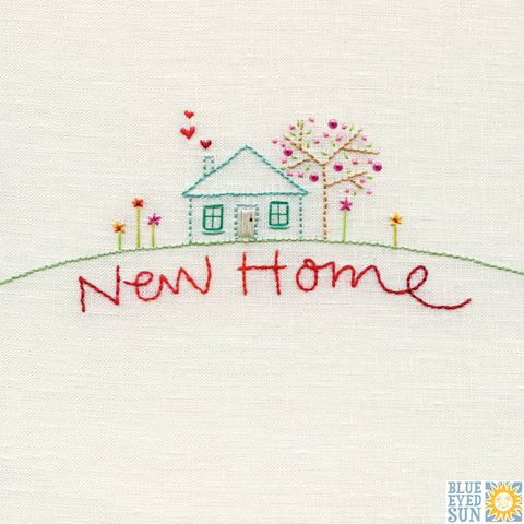 House,&,Tree,New,Home,Card,buy new home card online, buy cards for good luck in new home online, new house card, buy welcome To your new home card online, moving house card, moved house card, new address card