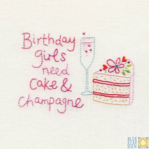 Cake,&,Champagne,Birthday,Girl,Card,buy birthday card for her online, buy birthday cake birthday cards online, buy champagne birthday card online, buy. Birthday girl  card online, buy cake and birthday drink fizz bubbles birthday card for her online