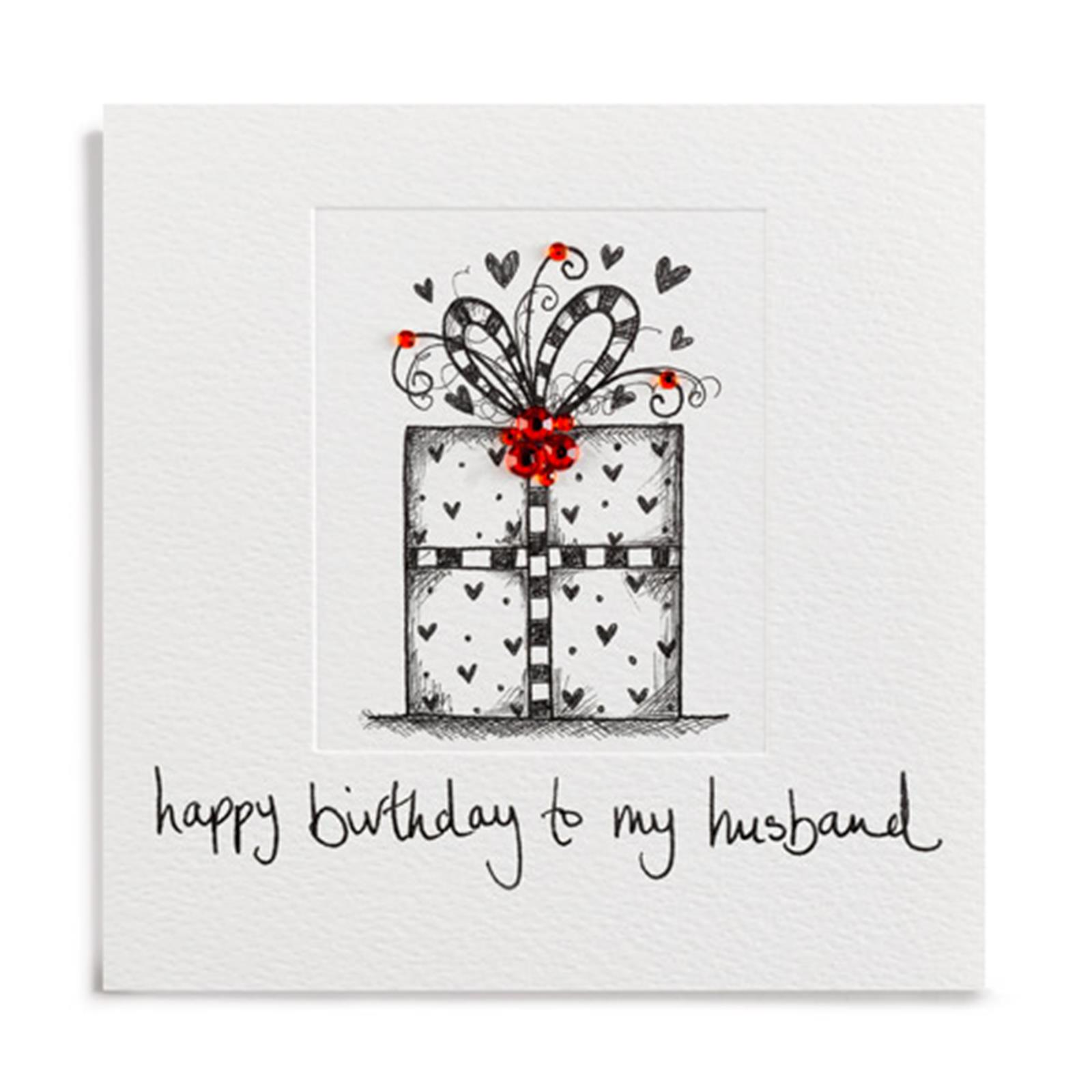 buy husband birthday card online at karenza paperie luxury hand finished birthday present birthday card for husband