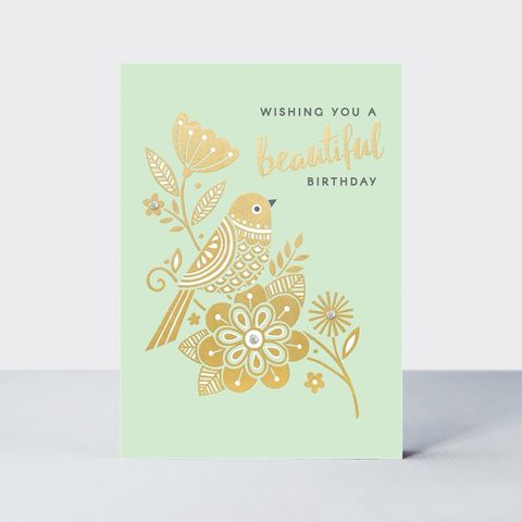 Bird,Beautiful,Birthday,Card,buy birthday cards for her online, buy birthday cards with birds online, buy owl birthday cards online, buy unisex bird birthday cards online, buy  birthday cards with birds online