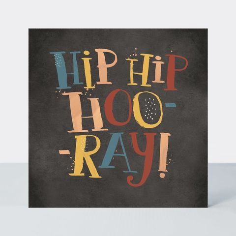 Hip,Hooray,Happy,Birthday,Card,buy hip hip hooray birthday cards for him online, buy patterned hip hip hooray cards to celebrate online, buy male birthday cards for the birthday boy online, buy birthday cards for him online,