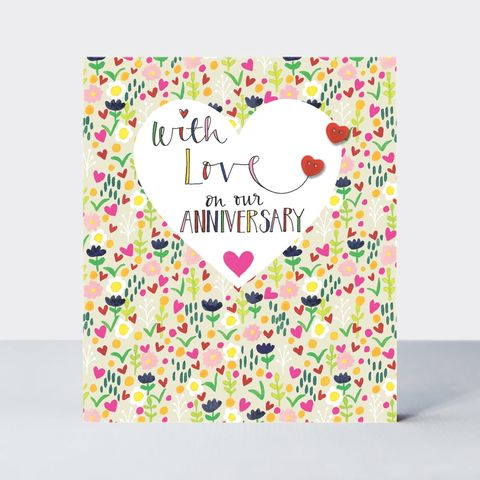 Floral,On,Our,Anniversary,Card,buy anniversary card online, buy wedding anniversary cards online, buy cards for anniversaries online, happy anniversary card, buy wedding anniversary card online, buy hearts anniversary cards, buy wife anniversary card online, buy husband anniversary car