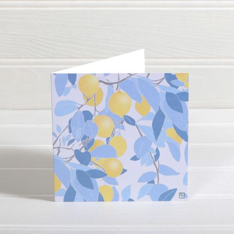 Lemon,Grove,Greetings,Card,-,Emily,Burningham,Blank,buy emily burningham cards online, buy lemon grove card online, buy lemon greetings cards online, buy nature blank greetings cards online, buy floral blank cards online, buy summer fruits card online, buy beautiful cards with flowers and plants online