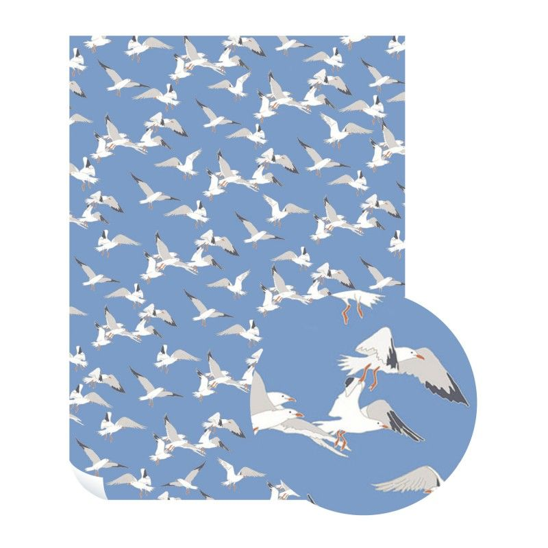 Emily Burningham Seagulls Gift Wrap - Pack of 5 Sheets - product images  of