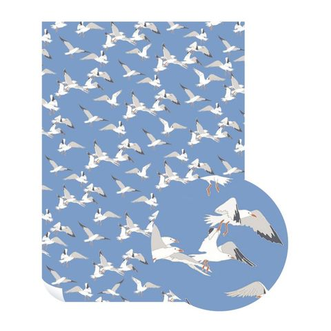 Emily,Burningham,Seagulls,Gift,Wrap,-,Pack,of,5,Sheets,buy emily burningham gift wrap online., buy floral wrapping paper for her online, buy pretty botantical gift wrap online, buy pack of gift wrap online, buy luxury wrap online