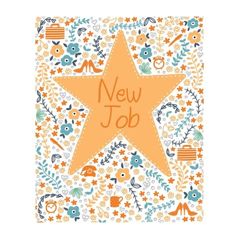 Gold,Star,New,Job,Card,buy congrats on your new job cards online, buy good luck in your new job  cards online, buy best friend birthday card online, buy unicorn birthday cards online, buy to the one i love birthday card online, buy girlfriend birthday card online, buy wife birt