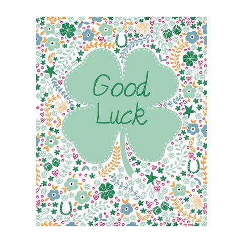 Four,Leafed,Clover,Good,Luck,Card,buy good luck cards online, buy good luck in your new job  cards online, buy best friend birthday card online, buy unicorn birthday cards online, buy to the one i love birthday card online, buy girlfriend birthday card online, buy wife birt