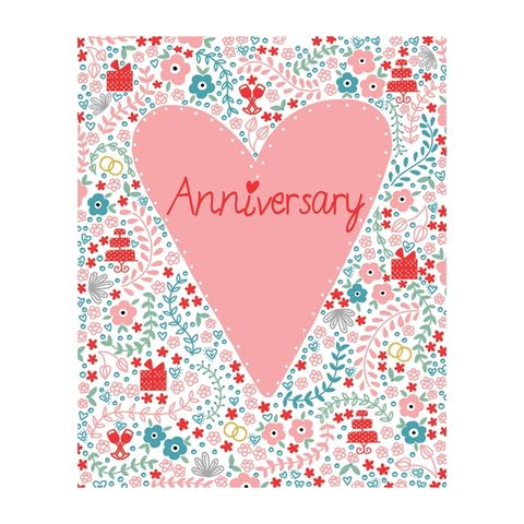 Pink,Heart,Wedding,Anniversary,Card,buy wedding anniversary congratulations cards online, buy anniversary cards online, buy happy anniversary cards online with hearts flowers champagne drinks, congratulations on your engagement card,  cup of tea, the one i love birthday card online, buy gir