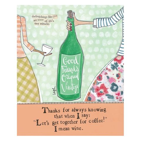 I,Mean,Wine,Good,Friends,Card,-,Curly,Girl,Design,buy old friend card online, buy curly girl designs card online, curly girl cards UK, buy friendship cards online, buy best friend cards online, cards for best friends, best friend birthday card, birthday cards for oldest friend, birthday cards for special