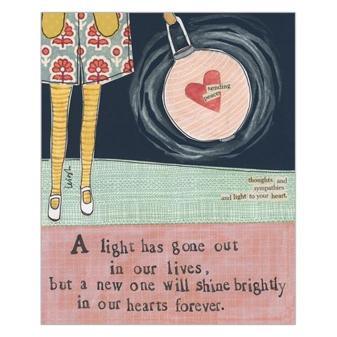 A,Light,Has,Gone,Out,In,Our,Lives,Sympathy,Card,-,Curly,Girl,Design,buy thinking of you card online, buy with sympathy card online, card for thinking of you, with sympathy card, sympathy card, deepest sympathy card, condolences card, with condolences card