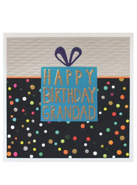Birthday Present Grandad Happy Birthday Card - product images