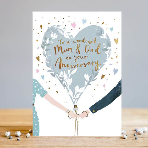 Mum,And,Dad,Anniversary,Card,buy mum and dad wedding anniversary card online, buy special anniversary cards for parents online, buy wedding anniversary cards online, buy wonderful anniversary cards for special mum and dad online