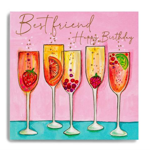 Hand,Finished,Champagne,Cocktails,Best,Friend,Birthday,Card,buy best friend birthday card online, buy cocktails birthday drinks birthday cards for friends online, buy party special friend birthday cards online, buy luxury best friend cards online,buy special friend birthday cards online, buy best friend cards onli