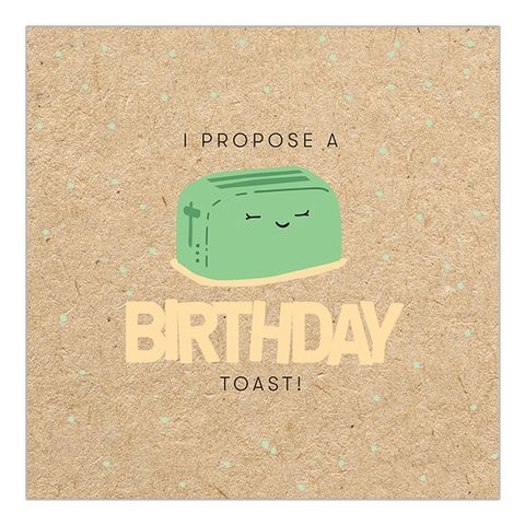 Birthday,Toast,Toaster,Card,buy birthday toast card online, buy cute fun birthday cards online for him her unisex gender neutral, buy toaster birthday toast birthday cards buy online, buy male birthday cards online with toaster