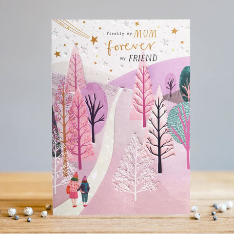 Firstly,My,Mum,Forever,Friend,Card,buy mum card online, buy special cards for parents online, buy firstly my mum forever my friend card online, buy mum and best friend card online, buy special mum cards for just because, birthday or Mother's Day, Mothering Sunday cards for mum