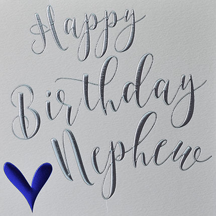 Happy,Birthday,Nephew,Heart,Card,Buy birthday cards for nephew online, buy nephew birthday cards online, buy happy birthday nephew card online from aunty and uncle uncles aunties aunt