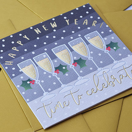 Drinks Happy New Year Time To Celebrate Card - product images  of