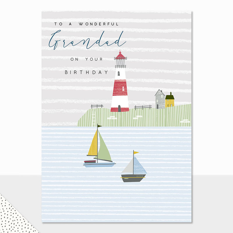 To A Wonderful Grandad Happy Birthday Card - product images