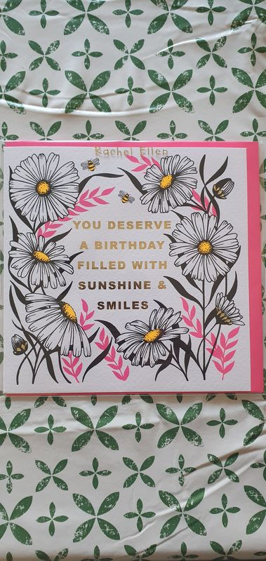 Daisies Sunshine and Smiles Birthday Card - product images  of