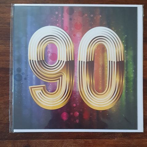 Gold,90th,Birthday,Card,buy 90th birthday card online, buy age ninety birthday card online, ninety birthday card for her, 90th birthday card for him, ninety birthday card, 90th card, buy age birthday cards online,