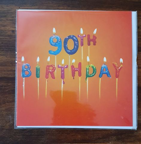 Candles,90th,Birthday,Card,buy 90th birthday card online, buy age ninety birthday card online, ninety birthday card for her, 90th birthday card for him, ninety birthday card, 90th card, buy age birthday cards online,