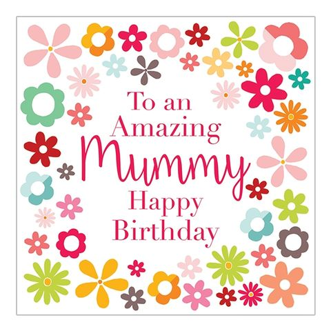 Amazing,Mummy,Happy,Birthday,Card,buy floral birthday card for mummy online online, buy mummy birthday card with flowers online, buy mummy birthday card online from chil child children son daughter, pretty flowers mummy birthday card