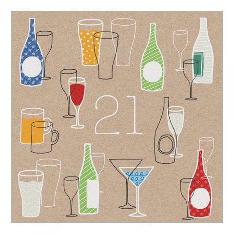 Birthday,Drinks,21st,Card,buy bottles of drnk beer wine ale 21st birthday card online, buy  twenty one birthday card with bottles online, buy 21st birthday card online for him or her, unisex age twenty one birthday drinks card, twenty first brithday cards