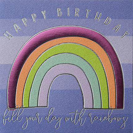 Fill,Your,Day,With,Rainbows,Happy,Birthday,Card,buy birthday cards for her online, buy female birthday cards with rainbows online, buy rainbow birthday cards online, buy gender neutral birthday cards online, buy birthday cards with rainbows online, rainbow birthday cards