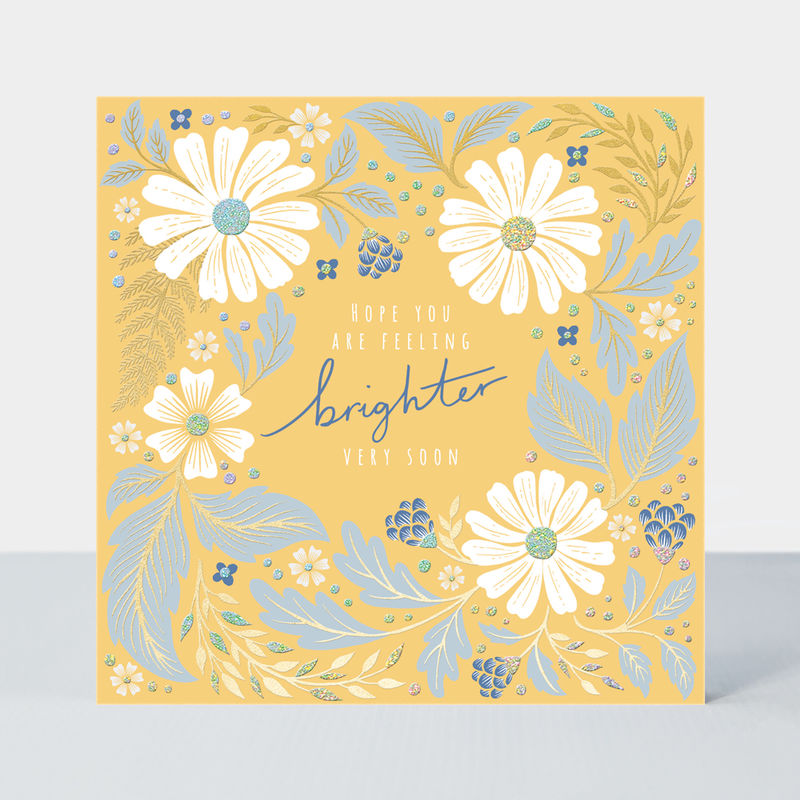 Hope You Are Feeling Brighter Soon Get Well Card - product images  of