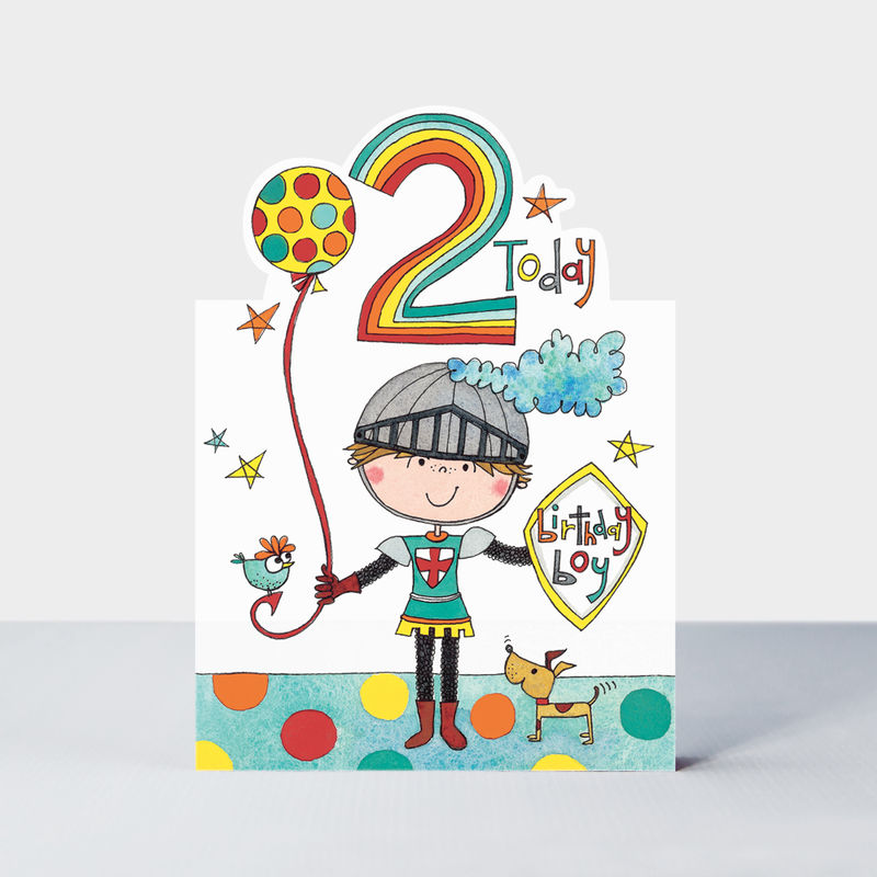 Knight 2 Today Happy Birthday Card - product images  of